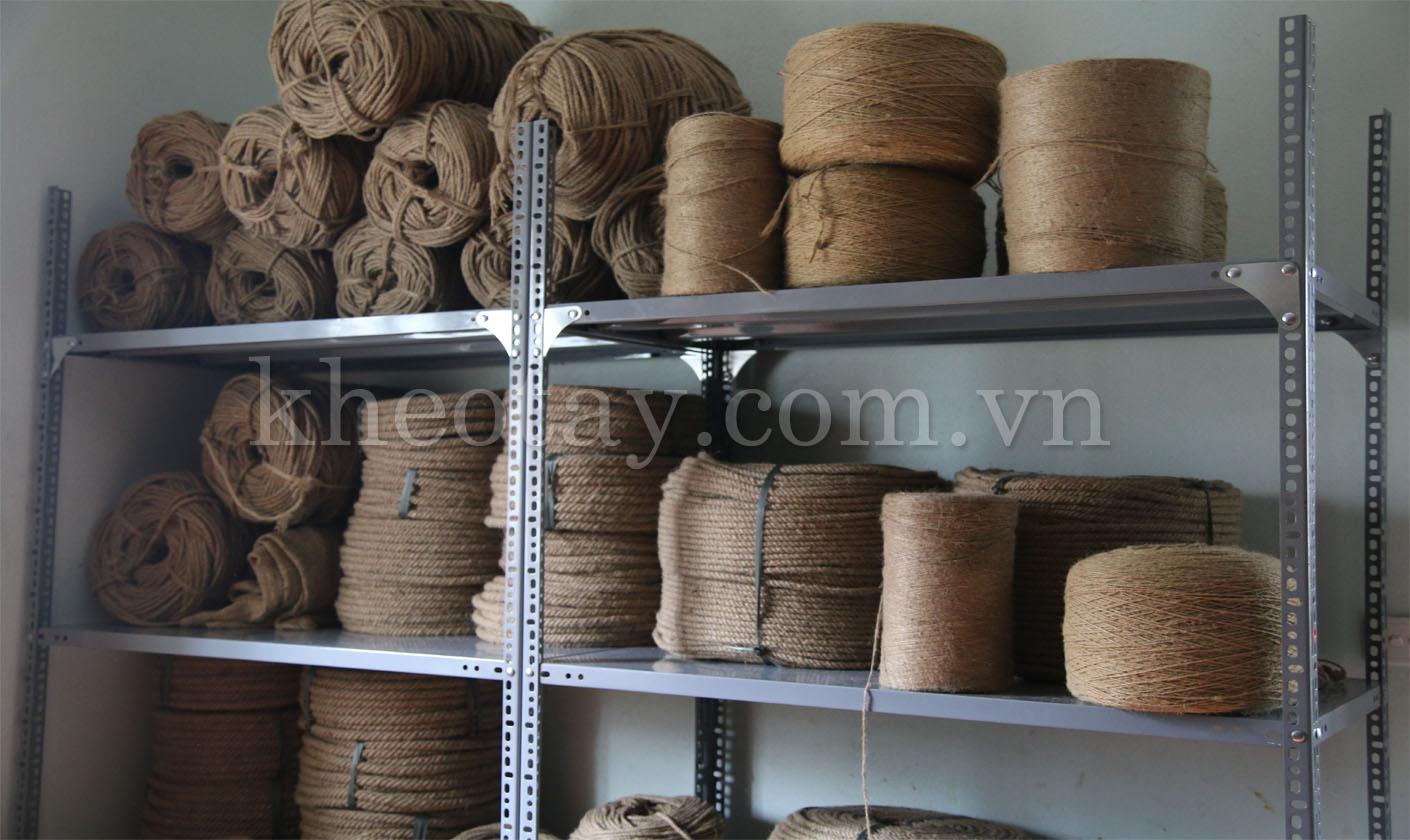 Các cỡ dây thừng lớn - bé tại Khéo Tay