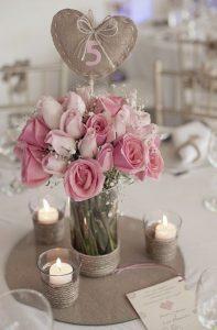 Trang trí không gian ngày cưới bằng dây thừng đẹp mắt