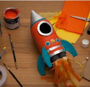Cách làm tên lửa siêu ngầu bằng chai nhựa