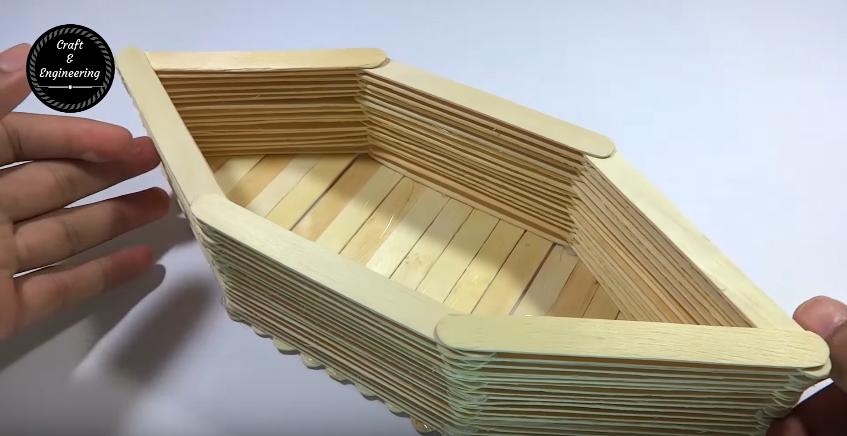 Cách làm con thuyền tuyệt đẹp bằng que đè lưỡi