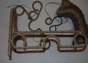 Cách làm ghế sofa độc đáo bằng dây thừng