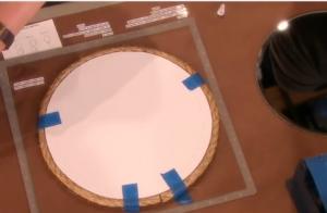 Trang trí gương treo nhà bằng dây thừng đẹp mắt