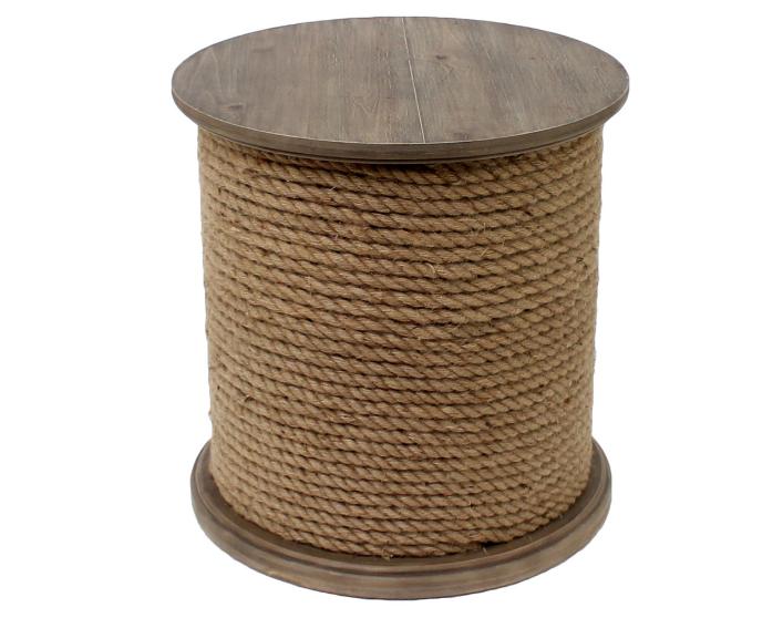Cách trang trí bàn ghế siêu độc đáo bằng dây thừng