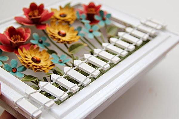 Cách làm khung tranh 3D tuyệt đẹp bằng giấy