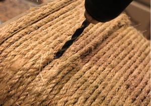 Cách làm thùng đựng đồ bằng dây thừng đơn giản