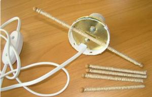 Cách làm đền để bàn bằng dây thừng độc đáo