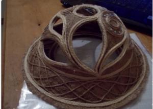 Cách làm mũ đội đẹp mắt bằng dây thừng