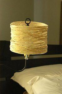 Cách làm đèn đẹp mắt bằng dây thừng