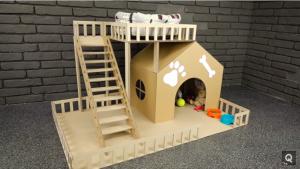 Cách làm nhà mini siêu dễ thương cho cún