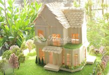 Cách làm nhà bằng que kem gỗ