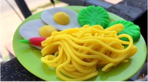 5 cách nặn đất sét hình đồ ăn đẹp nhất