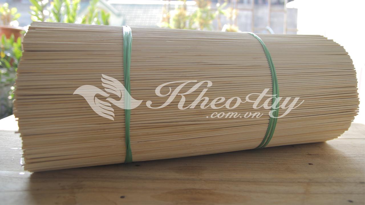 Nên chọn tăm làm từ thân tre, tốt nhất là thân trúc để có chất lượng tốt nhất
