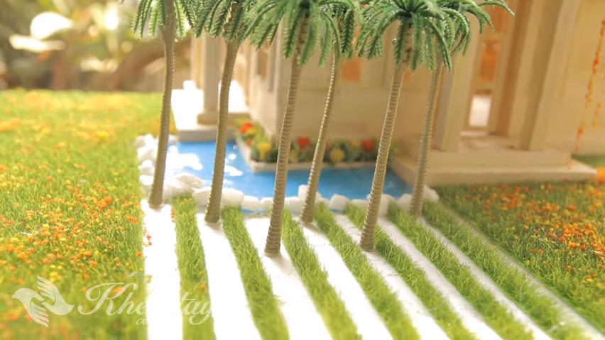 Cách làm hồ bơi - hồ nước cho nhà mô hình