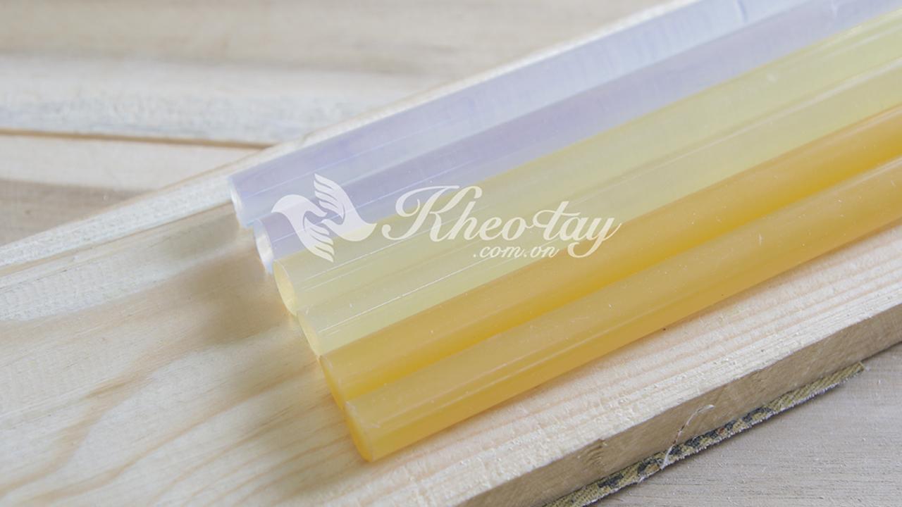 Mẫu keo nến trắng và vàng tại kheotay.com.vn