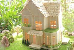 Nhà que kem gỗ