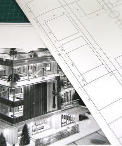 Bản vẽ nhà mô hình