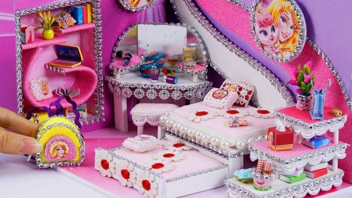 Làm phòng ngủ búp bê Aurora