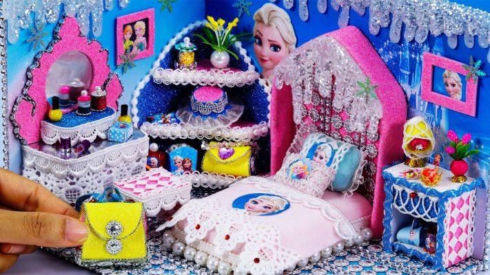 Làm phòng ngủ DIY công chúa Elsa
