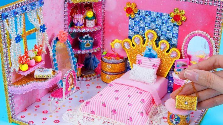 Làm nhà búp bê Disney Princes