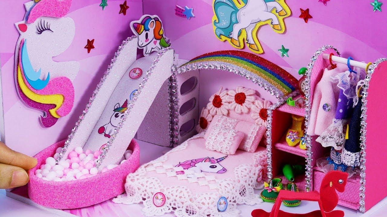 Làm mô hình phòng ngủ thu nhỏ Kỳ Lân ngộ nghĩnh