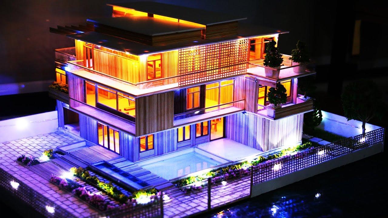 Biệt thự 3 tầng có hồ nước