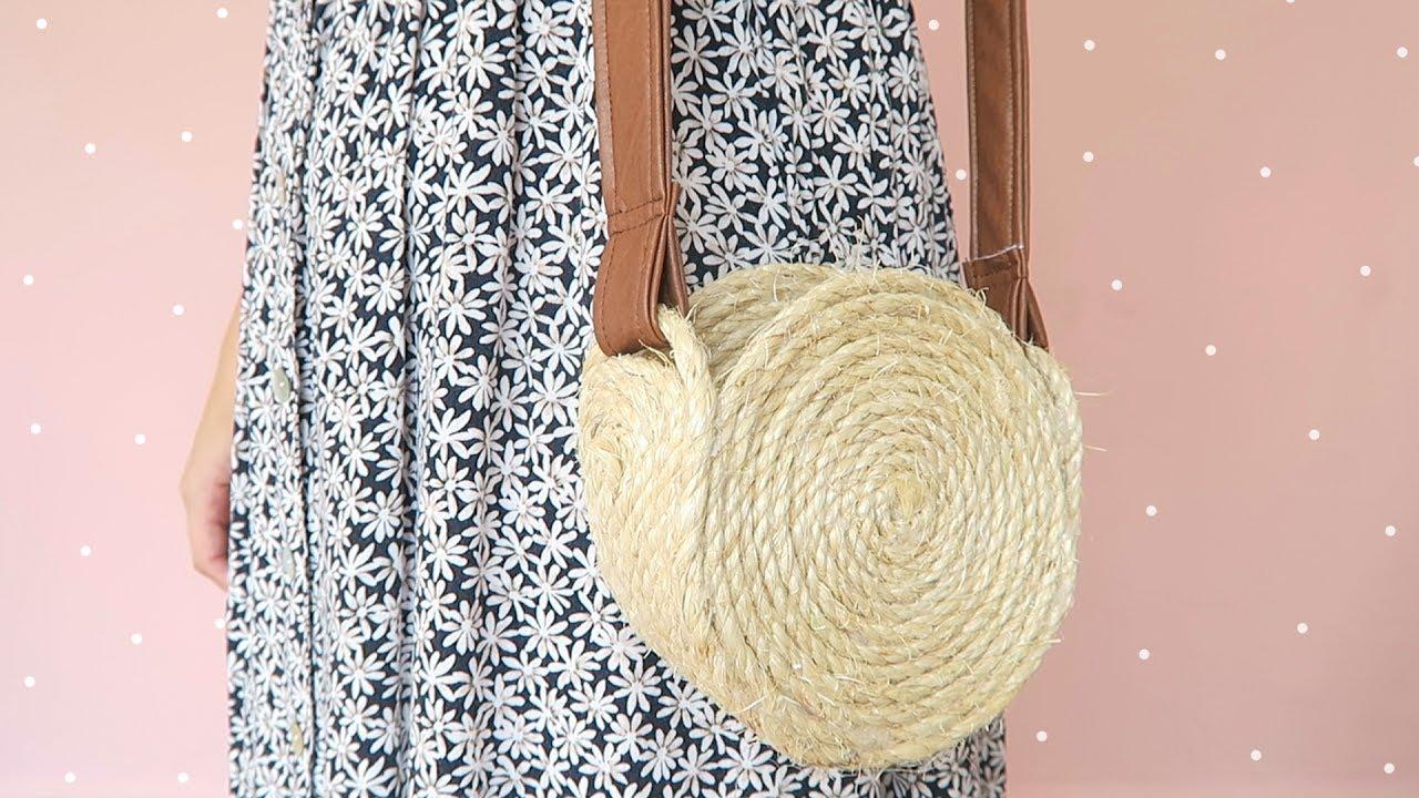 Cách làm túi xách từ dây thừng hanmade