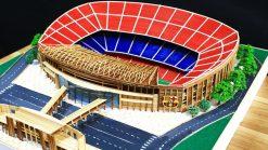 bản vẽ sân vận động Nou camp