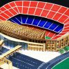 Bộ KIT làm sân Noucamp của Barca bằng tăm tre