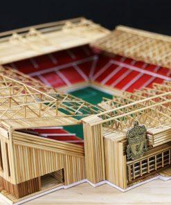 Bộ KIT làm sân Anfield bằng tăm tre