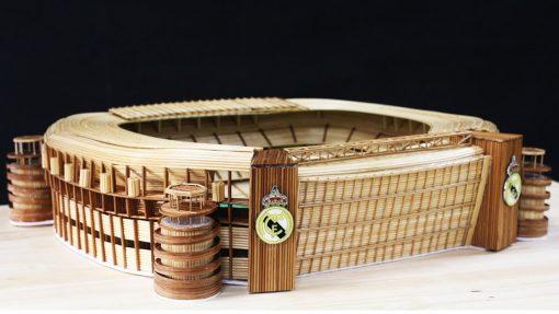 Bộ KIT làm sân Bernabeu của Real bằng tăm tre