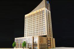 Khách sạn Mường Thanh bằng tăm tre