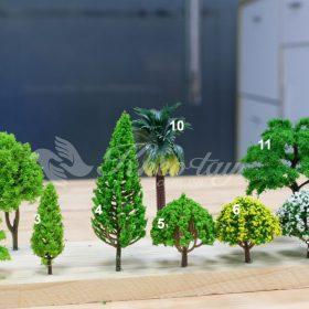 Cây & Thảm cỏ mô hình