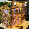 Bộ KIT làm nhà que kem gỗ gắn LED